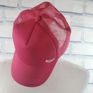 Roxy - Hot pink women's trucker hat